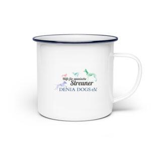 Tassen Streuner - Emaille Tasse-3