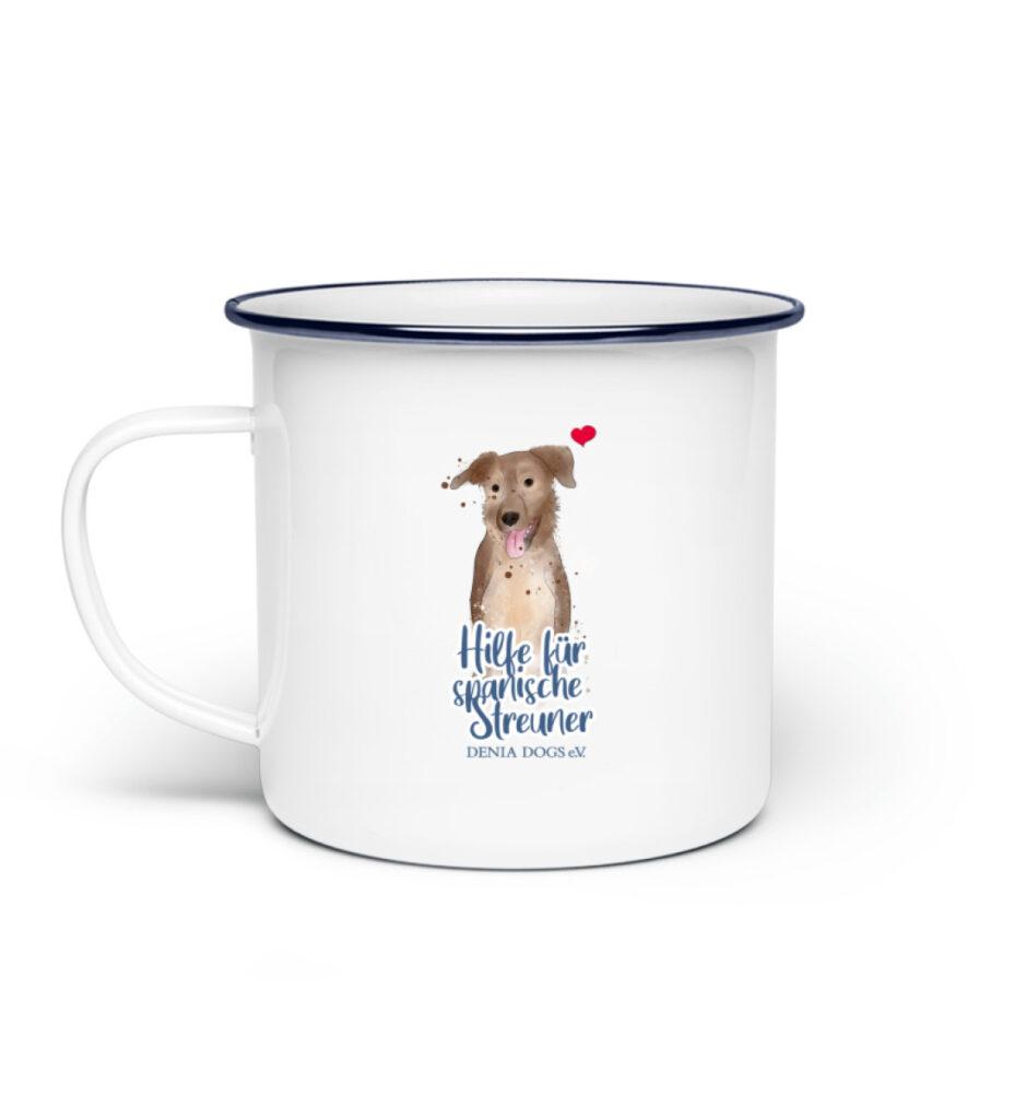 Tassen Hundeliebe - Emaille Tasse-3