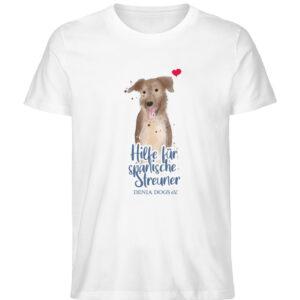 Hundeliebe - Herren Premium Organic Shirt-3