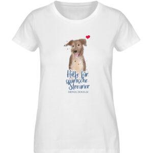 Hundeliebe - Damen Premium Organic Shirt-3
